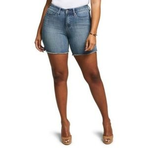 CURVES 360 BY NYDJ Shape Slim Straight Shorts 14